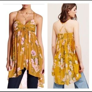 Free People Mirage Convertible Tube Tunic Top